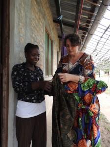 helpen bij naaiproject